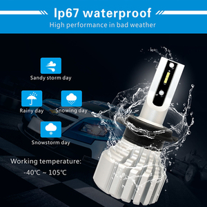 Image 3 - Cnsunnylight Auto Mistlampen Lamp Led Verlichting Wit H11 H8 9006 H1 H3 880 PSX24W PSX26W P13W H7 9005 5000Lm dc 12V Auto Drl Foglamp