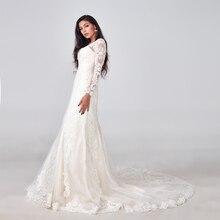 2019 Luxe Mermaid Trouwjurk Hot Koop Volledige Kralen Wedding Gown Custom Made Factory Groothandel Bridal Dress Nieuwe Bruidsjurk