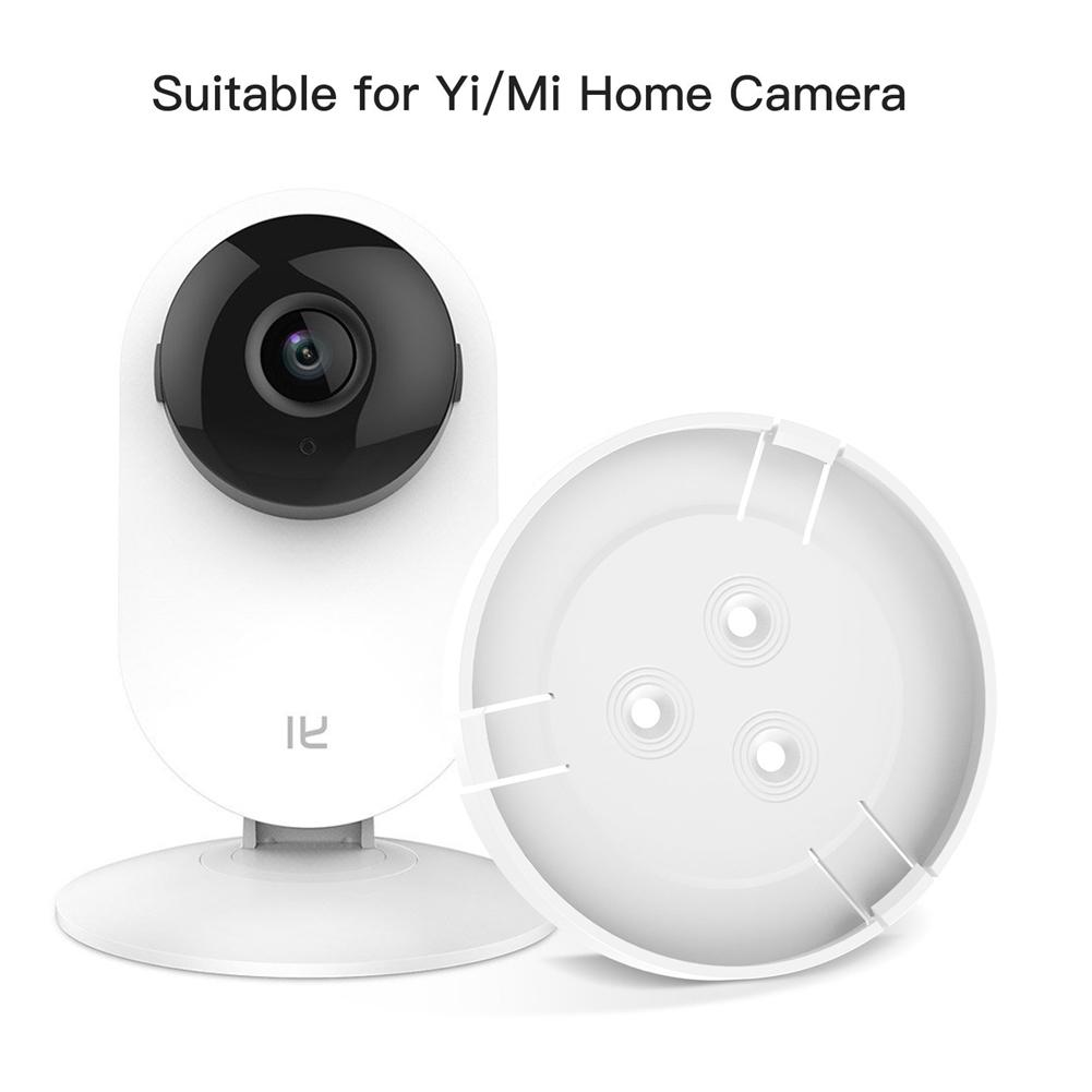 Rotating-Bracket-Holder Wall-Mount Home-Camera Indoor for YI 1080P 360-Degree Yi/mi title=