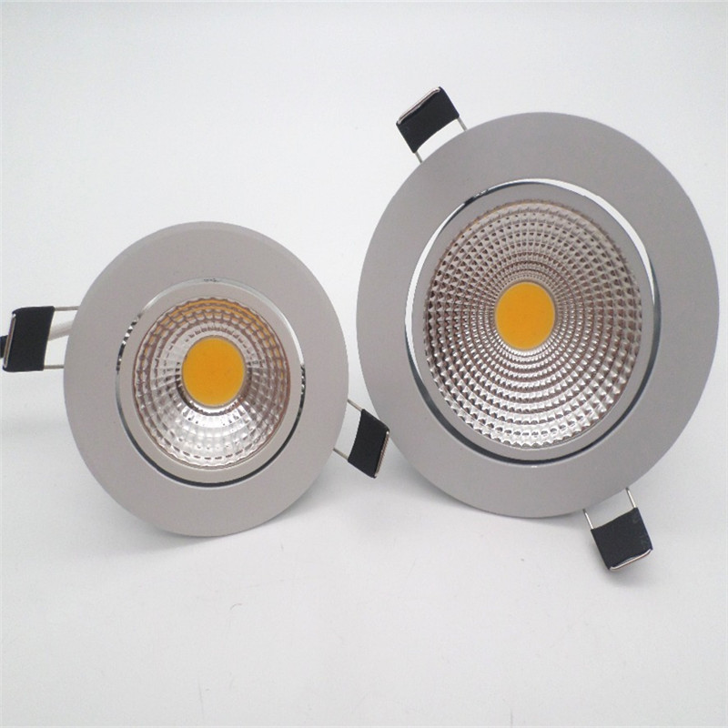 <font><b>LED</b></font> Downlight Super Bright Recessed <font><b>LED</b></font> <font><b>SPOT</b></font> Dimmable COB 3W <font><b>5W</b></font> 7W 12W <font><b>LED</b></font> <font><b>Spot</b></font> light <font><b>LED</b></font> decoration Ceiling Lamp AC/DC <font><b>12V</b></font> image