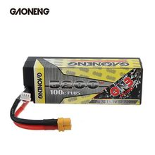 Original Gaoneng 11.1V 5200mAh 100C 3S XT60 Plug Lipo Battery For FPV Racing Drone RC Multirotor Spa