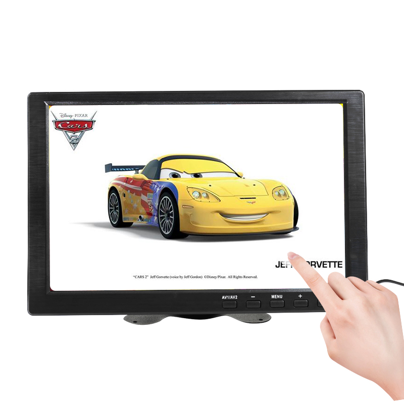<font><b>10.1</b></font> inch Small touch Portable Monitor pc Computer VGA HDMI <font><b>Raspberry</b></font> <font><b>pi</b></font> LCD <font><b>Display</b></font> Screen 12 inch gaming monitor 1366x768 USB image