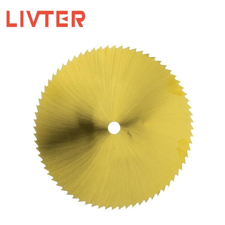 LIVTER HSS Hss Circular Disc Saw Blade M42 Material Mini Size 2.95inch Power Tools 10pcs Freeshipping 72T Superthin Freeshipping