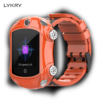 LYKRY DF53 Super Cool Smart Watch Video Call WiFi Location 4G Net Work GPS Multiple Positioning Smartwatch For Children