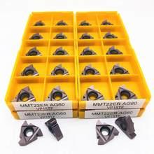 MMT MMT22ER AG60 VP15TF outil de tournage de filetage de haute qualité outil de tournage en métal CNC outil de tournage 22ER AG60 tour carbure