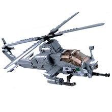 Sluban 0838 construtor apto técnica super hornet lutador gunship helicóptero motocicleta blocos de construção tijolos brinquedos para crianças