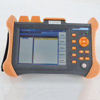 TMO 300 SM 32/30dB 1310/1550nm SM OTDR Tester Built in 10mw Visual Fault Locator Optical Fiber Test