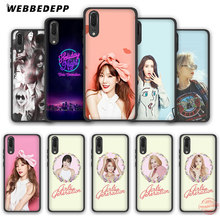 WEBBEDEPP Snsd Girls 'Generation Taeyeon Soft Case voor Huawei P Smart Z Plus 2018 2019 & Y6 Y7 Y9 Prime 2018 2019 V20(China)