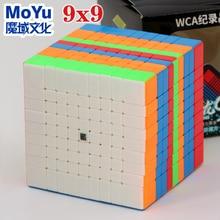 Головоломка магический куб Moyu cubing класс Mofang Jiaoshi MF9 9x9 MeiLong 9x9x9 9*9 высококачественный образовательный профессиональный скоростной куб