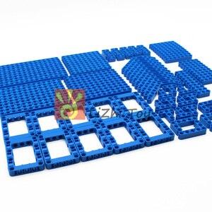 Image 2 - 120Pcs Technic Onderdelen 6 Kleuren Liftarm Dikke Bouwstenen Blokken Accessoire Set Arm Beam Mechanische Bulk Deel Diy Speelgoed voor Kids