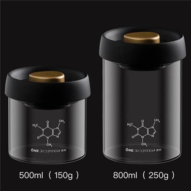500-800ml vacuum sealed jar glass pull can vacuum jar lid jar food glass grain container storage jar kitchen bottle jar