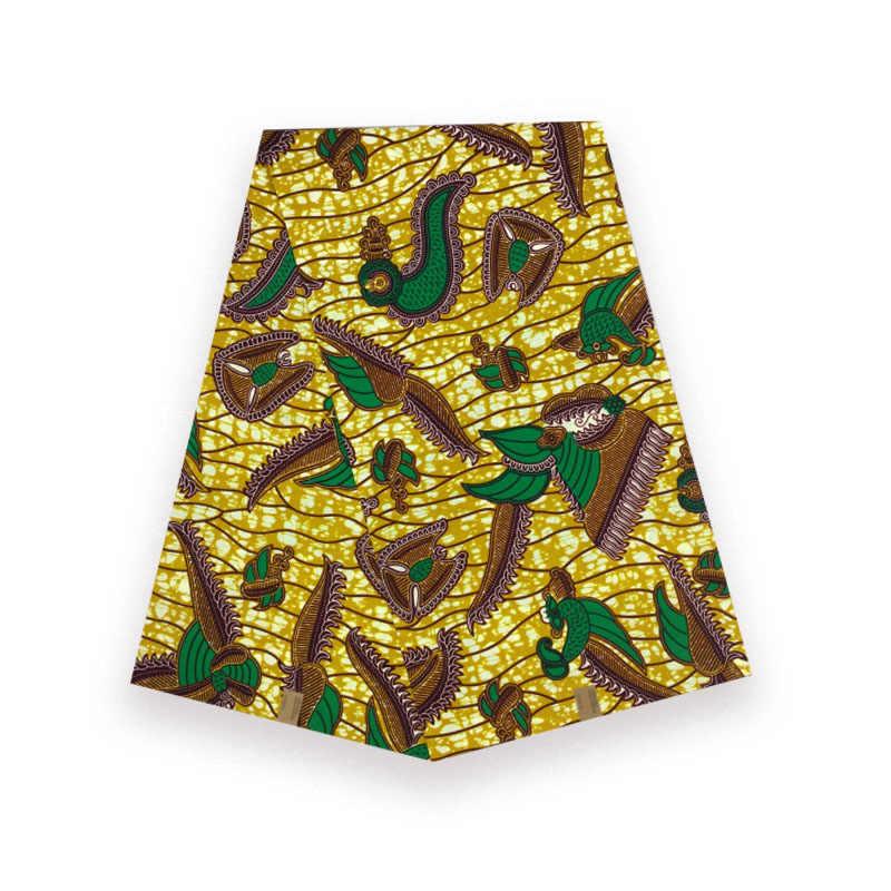 Cotone Africano della cera vera e propria olandese Stampato in tessuto blocco di cera vendita calda per donna africana ankara V-L 599