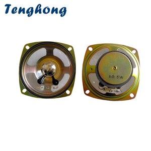 Tenghong 2 pçs 3 Polegada 78mm alto-falantes à prova d8 água 8 ohm 5w unidade de alto-falante de alarme de mina de carvão ao ar livre transparente