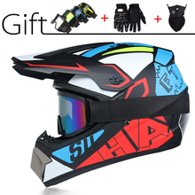 Free shipping Off road mountain full face Motobiker Helmet Classic bicycle MTB DH racing helmet motocross downhill bike helmet