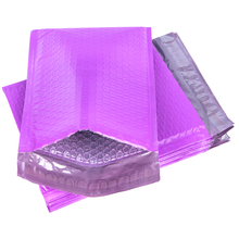 Padded Purple Mailer-Envelopes Mailing-Bag Packing for Usable-Space 10pcs/Lot Self-Sealing