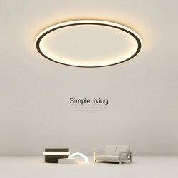 New Arrival led lampa sufitowa minimalizm nordic atmosfera domu lampa do salonu kreatywny doprowadziły sufitu światła AC110V -220V