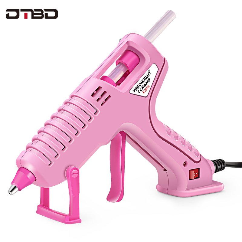 60W 70W Professional Hot Melt Mini Glue Gun Set With 7mm Hot Glue Gun Sticks For DIY Repair Tools