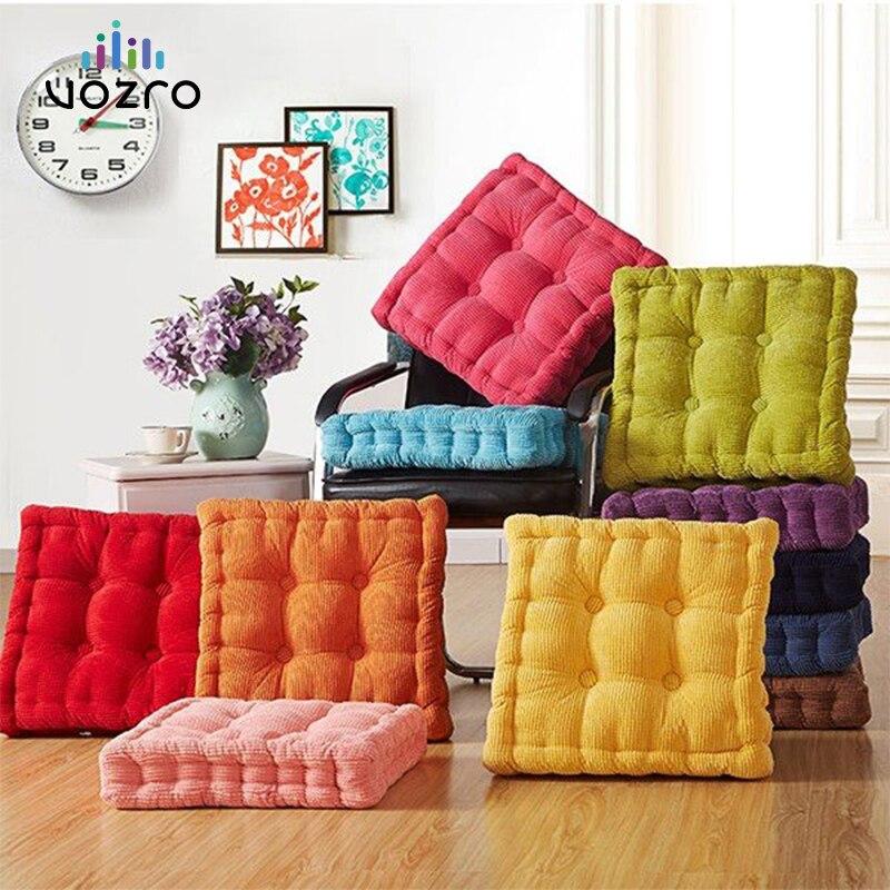 VOZRO Sabugo de Milho Tatami Assento da Cadeira Do Escritório Sofá da Tela Ao Ar Livre Almofadas Home Decor Textile Travesseiro Joelho Coussin Almofada Decorativa