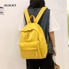 Girls Backpack Anti Theft Large Capacity Woman Preppy Style School Bags for Teenagers Female Nylon Travel Rucksack 5051
