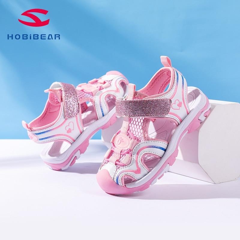 HOBIBEAR 2020 Summer Kids School Beach Sandals Girls Shoes Children Sandals For Girls  AU6816