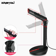 ZINGYOU Desktop USB Microphone Condenser Wired Handheld Microfono Condensador Profesional With Stand For Computer Chatting
