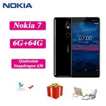 Nokia X6 Nokia 6.1 artı Nokia X7 Android Smartphone tam ekran çift kart 4G 64G mavi siyah 3G 32G 6G 64G öğrenci