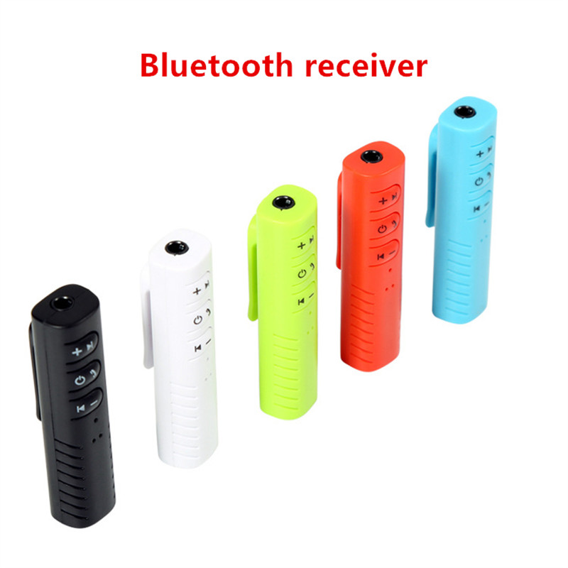 Image 4 - Bluetooth Receiver Car Bluetooth AUX 3.5mm Music Bluetooth Audio Receiver Handsfree Call Car Transmitter Auto Adapter-in Wireless Adapter from Consumer Electronics
