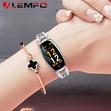 LEMFO Women Smart Watch Heart Rate Monitor Waterproof Calories Camera Remote Control Clock Gift Smart Watch for Girl