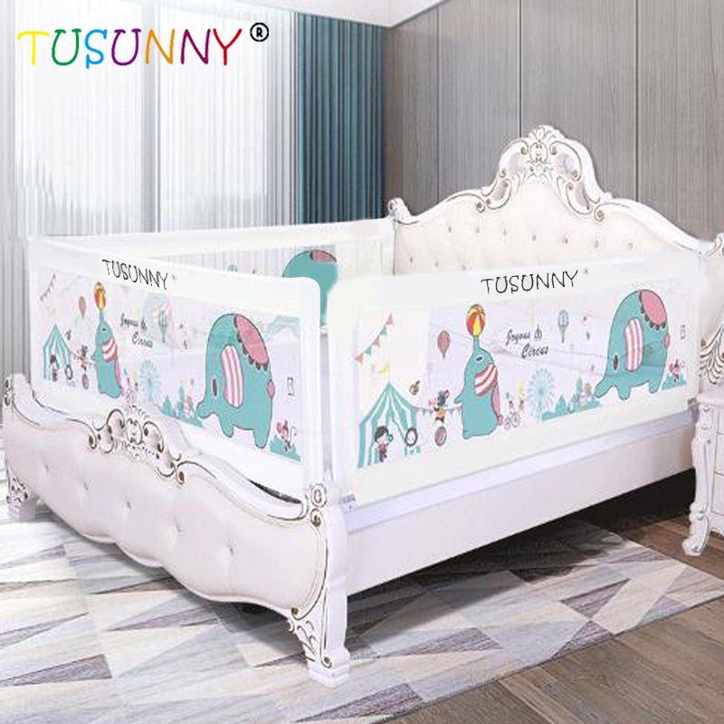 TUSUNNY Baby Bed Fence Home Kids Playpen Safety Gate Products Child Care Barrier For Beds Crib Rails Security Fencing Children