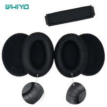 Whiyo substituição earpads para sennheiser hd418 hd419 hd428 hd429 hd439 hd438 hd448 hd449 fone de ouvido almofada almofada almofada travesseiro #