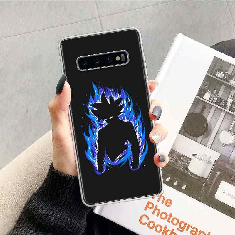 Dragon Ball Z Hình Ốp Lưng Dành Cho Samsung Galaxy Samsung Galaxy Note 10 9 8 S10 + Lite S9 S8 J4 J6 J8 plus 2018 S7 S6 Edge Mềm Điện Thoại Coque