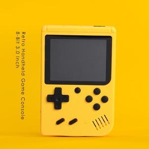 Image 2 - ポータブルミニビデオゲームプレーヤー8 ビット内蔵400クラシックゲーム3.0インチtftレトロポケットゲームコンソール