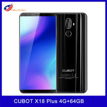 Cubot X18 Plus Octa-Core 4Gb 64Gb Mobiele Telefoon Android 8.0 Fhd + 18:9 5.99