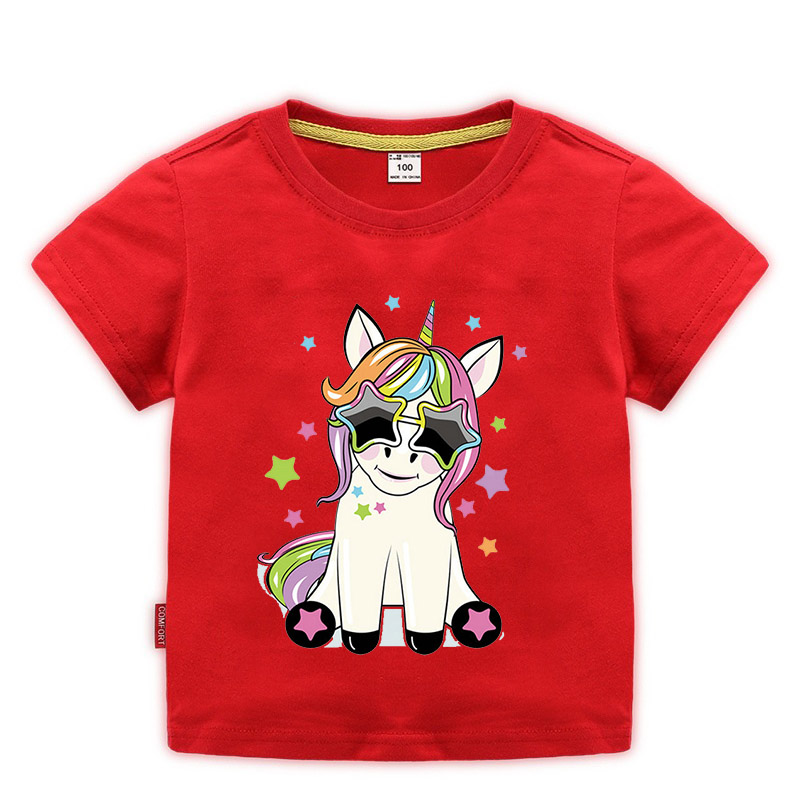 1-10Y dabbing unicorn kids boys girls t-shirt dabbing pug <font><b>dog</b></font> children t shirt teens <font><b>unisex</b></font> streetwear tops tees hip hop <font><b>tshirt</b></font> image