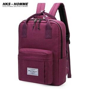 Image 2 - Mochilas impermeables para estudiantes, mochilas escolares para chicas adolescentes, mochila de viaje, bolso de hombro, novedad de 2020