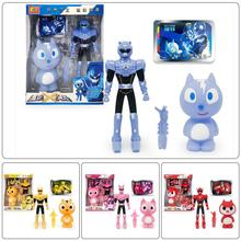 Miniforce X Mini Action Figure Set Air Mini Force Robot Juguetes Commandox Agent Toys Anime Figurines for Boys Birthday Gifts