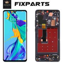 TFT LCD dla HUAWEI P30 ekran dotykowy dla Huawei P30 Pro wyświetlacz LCD Digitizer dla P30 Pro VOG-L29 ELE-L29 MAR-LX1M bez odcisków palców