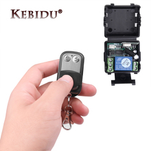 Hot Universal Wireless DC 12V 10A 1CH Remote Control Switch relay Receiver Module and RF Transmitter 433 Mhz Remote Controls