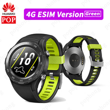 HUAWEI WATCH 2 Sport smartwatch HUAWEI นาฬิกา 2 2018 บลูทูธ Android iOS IP68 กันน้ำ NFC GPS (SIM 4G LTE อุปกรณ์เสริม)