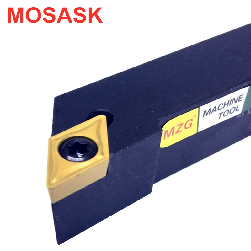 MOSASK SDJCR2020K11 Toolholders CNC Lathe Arbor SDJCR Machining Cutter Tungsten Carbide Insert External Turning Tool Holders