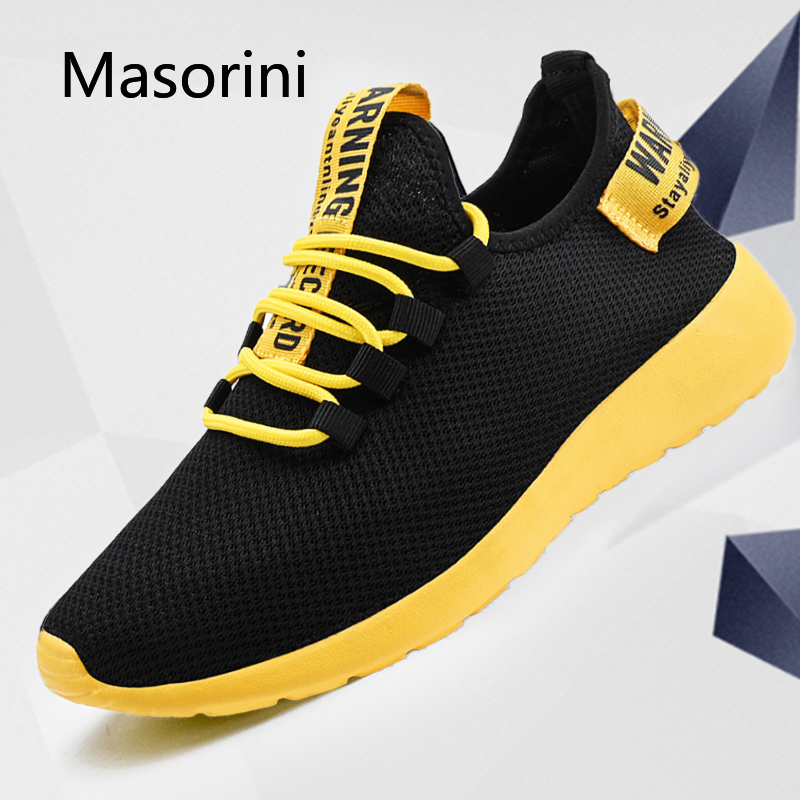 Mens Shoes Sneakers Tenis Male Wholesale No-Slip Lace-Up Lightweight Masculino Breathable