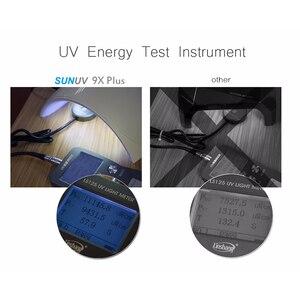 Image 5 - SUNUV SUN9x plus UV LED asciugacapelli 36W lampada a LED smalto per unghie smalto per Gel con Timer LCD pulsante sensore Manicure strumenti automatici