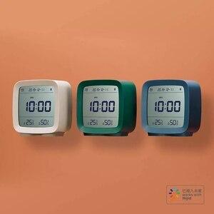 Image 3 - In magazzino Originale youpin Qingping Bluetooth di allarme di temperatura e umidità orologio di monitoraggio luce di notte tre in one 3 colori