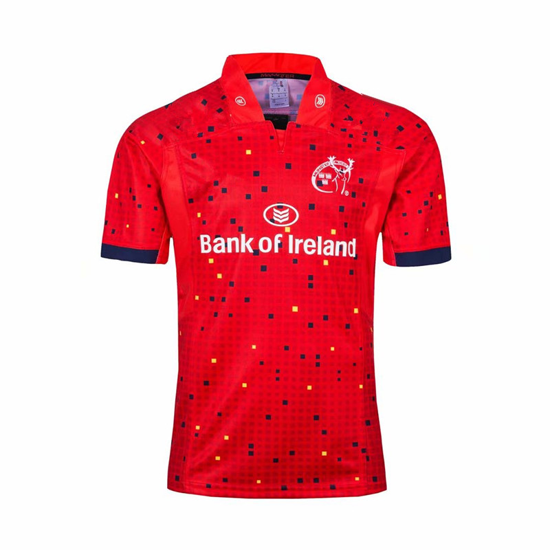 MUNSTER 2018 MEN'S HOME JERSEY Size S-3XL Print Custom Names And Numbers Top Quality  Free Shipping