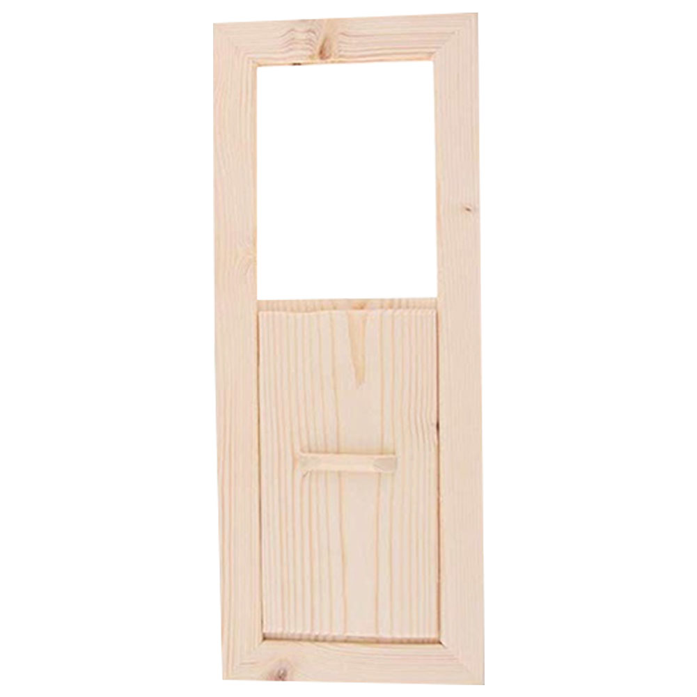 Smooth Cedarwood Adjustable Accessories Sauna Air Vent Grille Ventilation Steam Room Easy Install Shutter Window Summer Bath