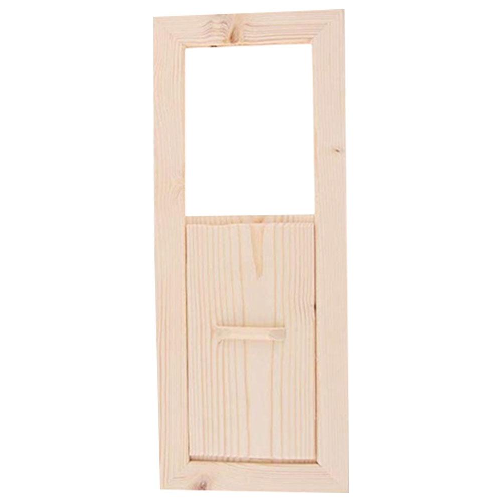 Smooth Cedarwood Adjustable Accessories Sauna Air Vent Grille Ventilation Steam Room Easy Install Shutter Window Summer Bath