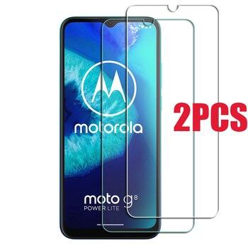 Перейти на Алиэкспресс и купить 2 шт. для Motorola Moto G8 Power Lite Защитное стекло для экрана из закаленного стекла на Moto e6s G7 Play plus E 2020 защитная пленка