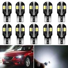 10x 12V W5W T10 LED Auto Lamp Interior Parking Light for Mazda 6 5 3 Axela CX-5 CX5 2 Spoilers MX5 CX 5 323 CX-7 GH CX3 MPV CX7 guang dian 4x led canbus for ma z da 2 3 6 323 5 626 axela cx 5 mx5 demio cx 7 rx8 t10 w5w 2835 chip clearance lights width lamp