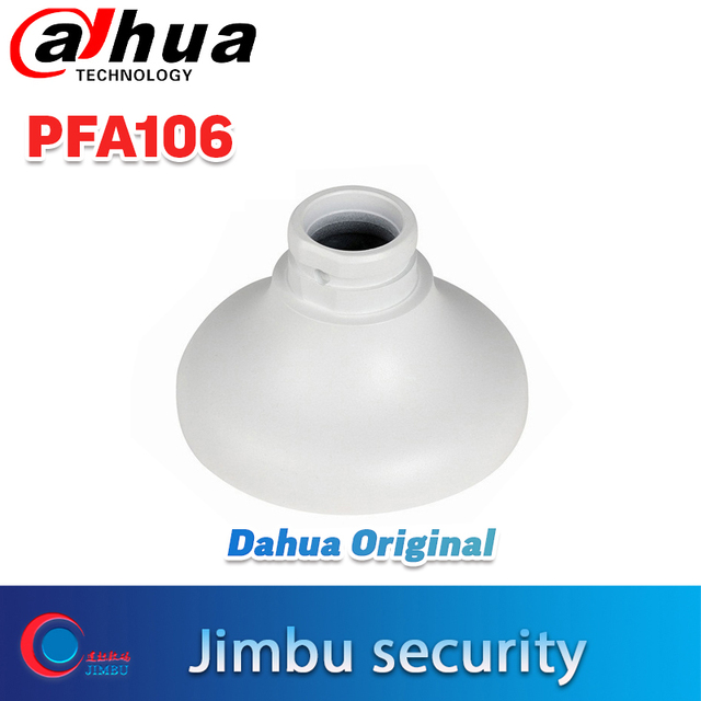 Placa adaptadora Dahua de Mini domo y cámara de tipo globo ocular PFA106 diseño ordenado e integrado soporte de cámara CCTV