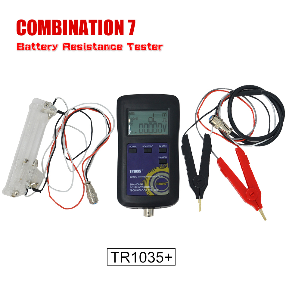 Upgrade YR1035 Digital Original Four-line TR1035 Lithium Battery Internal Resistance Test Electrical <font><b>18650</b></font> Dry Battery Tester C7 image